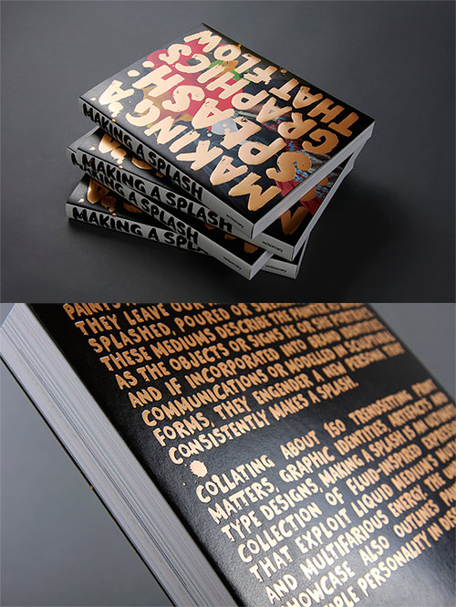 art books featuring thomas robson, Making a splash graphics that flow, books rear cover image 13