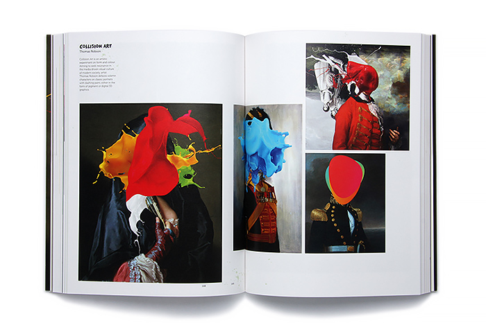 art books featuring thomas robson, Making a splash graphics that flow, book interior image 14