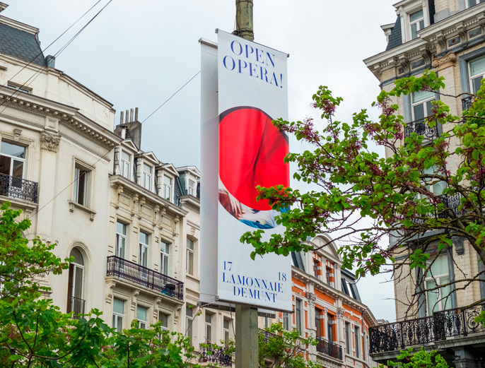 Thomas robson creative collaborations, base design Brussels, street poster examples image 1