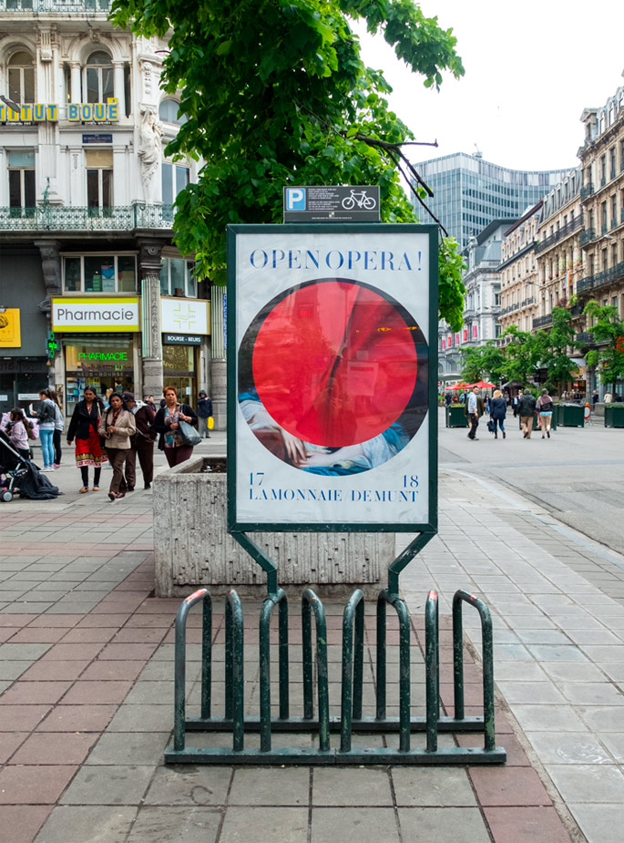 Thomas robson creative collaborations, base design brussels, street poster examples image 3