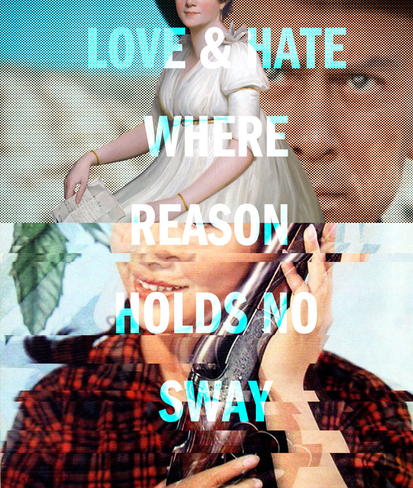 love and hate where reason holds no sway, image