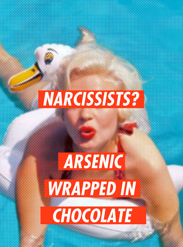 narcissists arsenic wrapped in chocolate, image