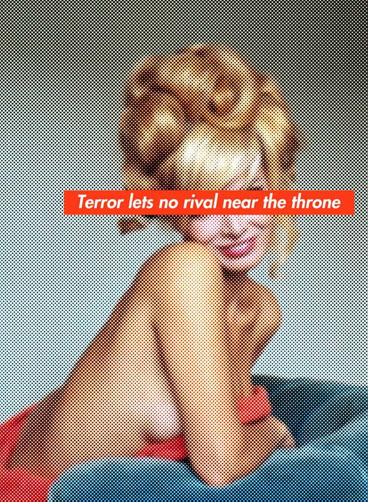 terror lets no rival near the throne, image