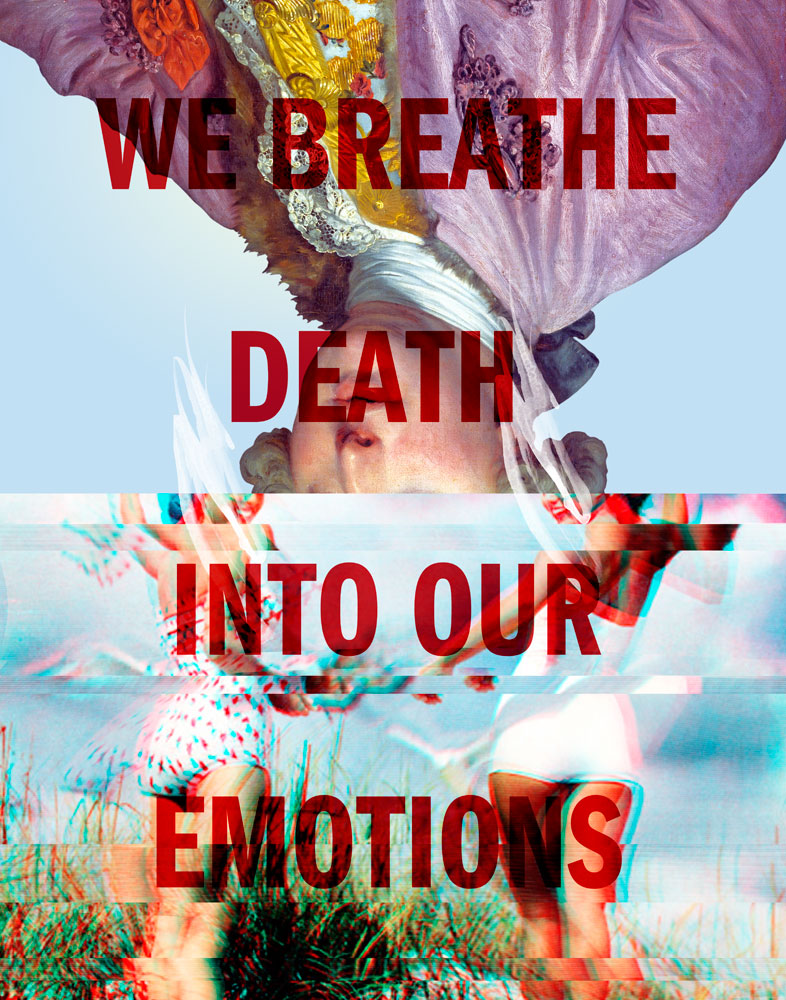 we breath death into our emotions, image