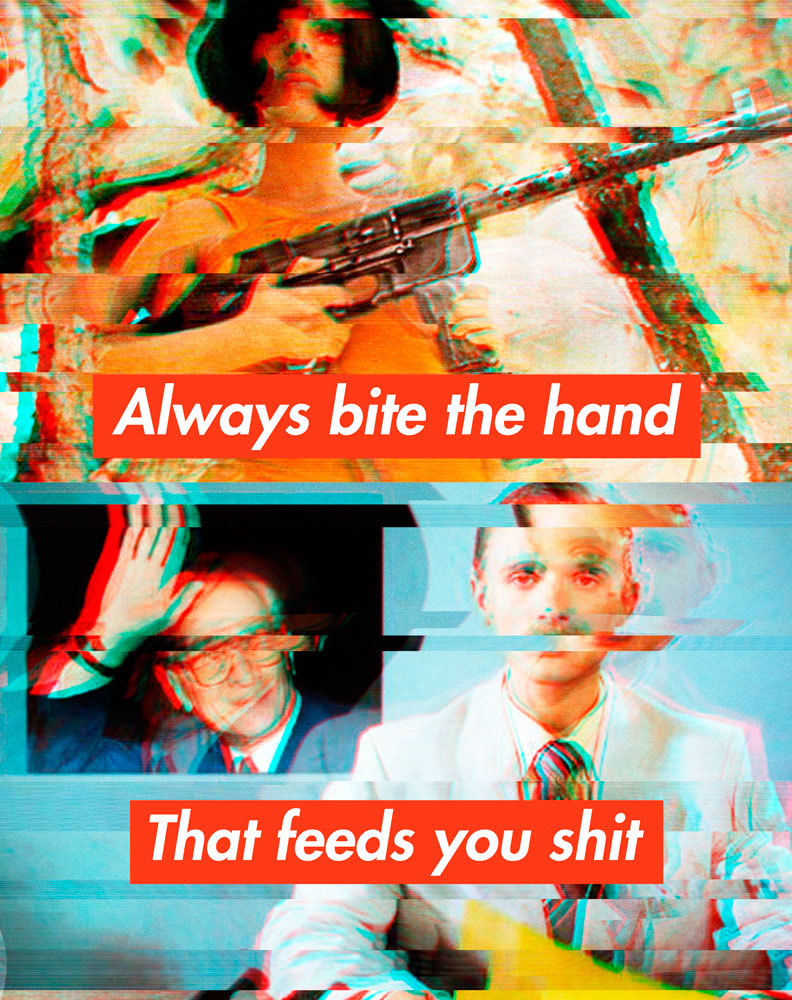 Always bite the hand that feeds you shit 2, image