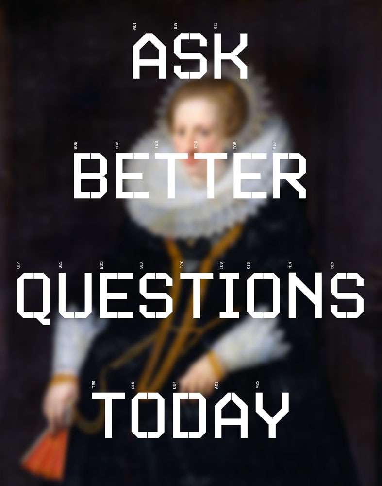 ask better questions today, image