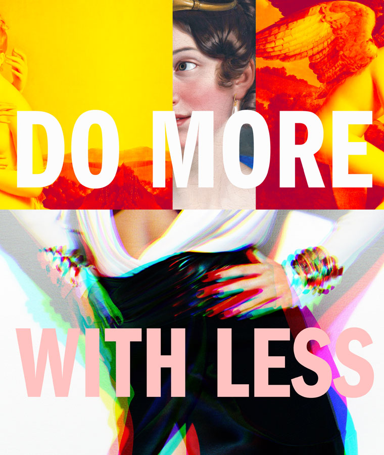 Do more with less, image