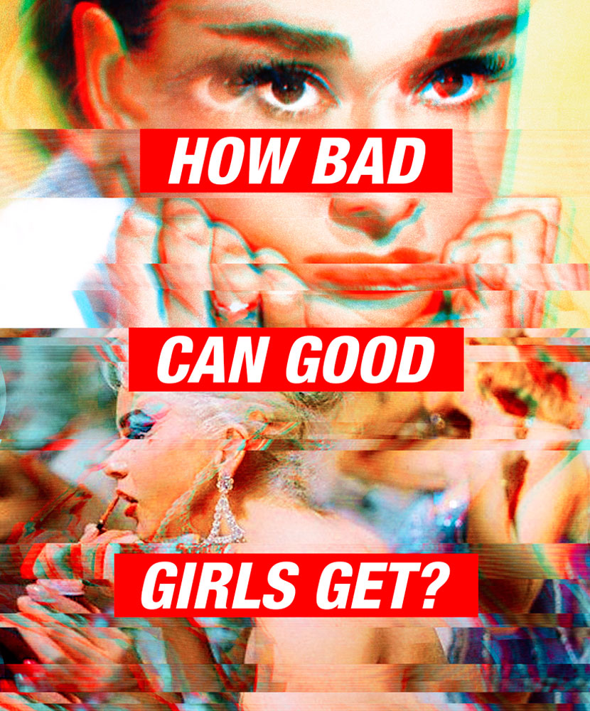 how bad can good girls get ?, image